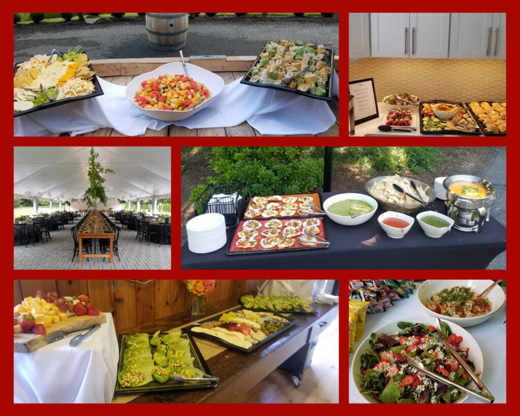 Red Cork Bistro Catering Events Summer 2021.